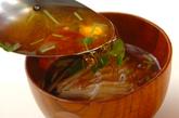 長芋の梅風味汁の作り方2