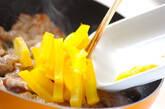 豚肉とたくあんの炒め物の作り方3