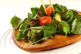 サラダピザの作り方11