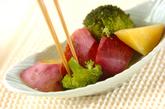 スチーム野菜のゴマみそディップの作り方2