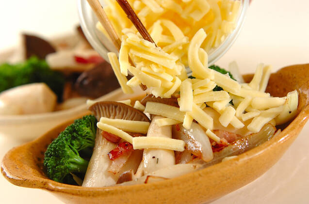 エリンギのチーズ焼きの作り方の手順3