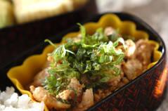 豆腐と鶏肉の照り焼き