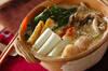 豆乳鍋の作り方の手順