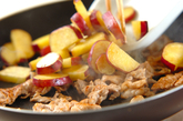 豚とサツマイモの辛みそ炒めの作り方3