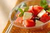 スイカのサラダの作り方の手順