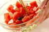 スイカのサラダの作り方の手順4