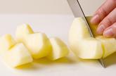 煮リンゴヨーグルトの作り方1