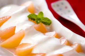 煮リンゴヨーグルト