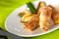 豚肉のパイン焼き
