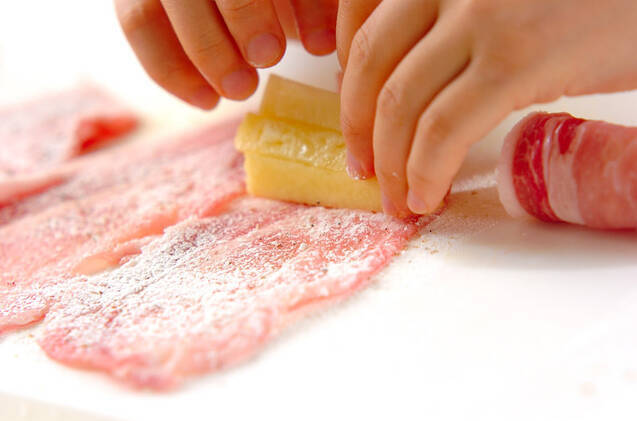 豚肉のパイン焼きの作り方の手順4