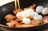 豚肉と玉コンニャクのうま煮の作り方3