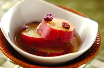 サツマイモのうま煮