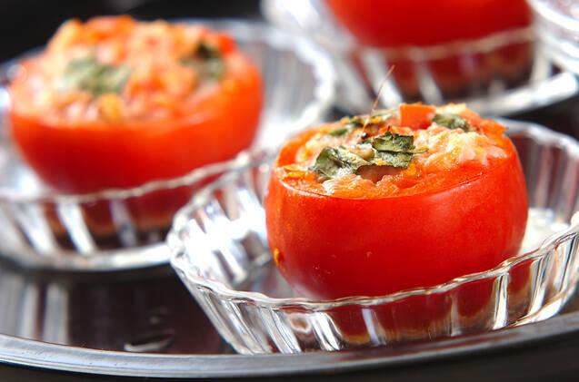 トマトカップグラタンの作り方の手順3