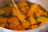 カボチャの田舎煮の作り方2