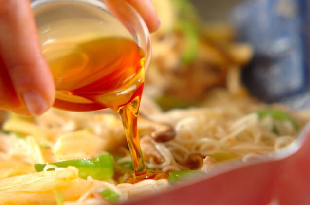 マーボー素麺の作り方の手順10