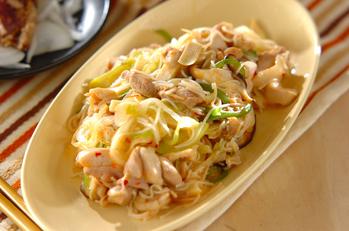 マーボー素麺