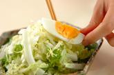 白菜のカリカリジャコサラダの作り方1