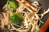 キノコ炒めの作り方2