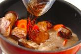 豚肉と大根のコーラ煮の作り方2