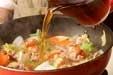 ポークとエビの中華丼の作り方2