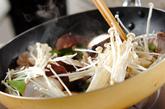 豚肉とキヌサヤの塩炒めの作り方2
