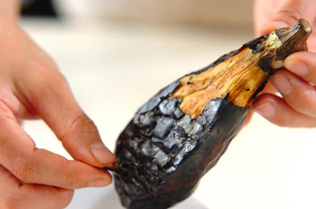 焼きナスのおかかしょうゆがらめの作り方の手順2