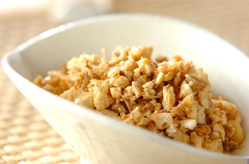 1.ツナ炒り豆腐