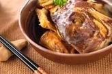 鯛のアラ炊き
