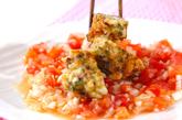イカ団子トマトソースの作り方3