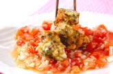 イカ団子トマトソースの作り方6