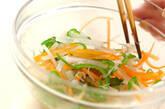 細切り野菜の酢の物の作り方5
