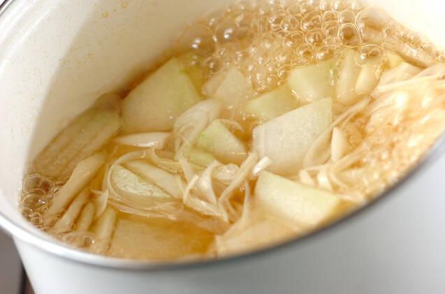 冬瓜の冷製スープの作り方の手順3