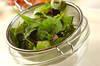 お刺身サラダの作り方の手順2