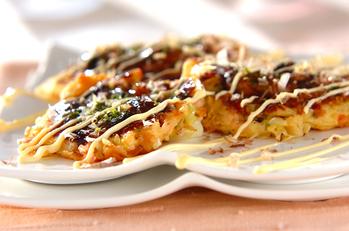 カキの大和芋焼き