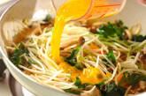 モヤシのピリ辛卵炒めの作り方8