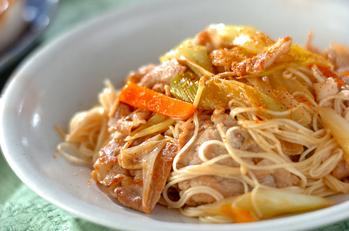 すき焼き風素麺