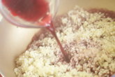 赤ワインリゾットの作り方3