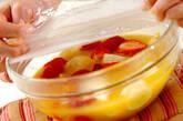 オレンジのホットデザートの作り方4