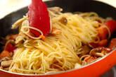 たっぷりキノコのスパゲティーの作り方4