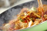 カレー風味の八宝菜の作り方2