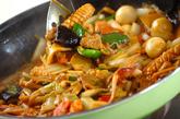 カレー風味の八宝菜の作り方3