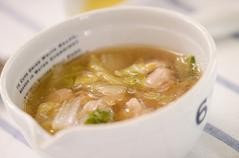 鶏と白菜のスープ