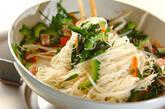 ゴーヤ入り素麺チャンプルーの作り方8