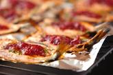 イワシの梅シソ焼きの作り方2