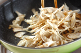 ゴボウのウスターソース炒めの作り方1