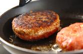 目玉焼きハンバーグの作り方4