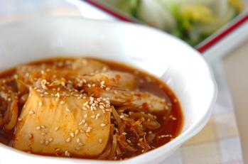 豆腐のチゲ風