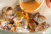 アサリのみそ炒めの作り方2