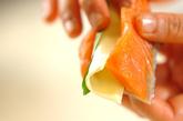 鮭のゴマチーズ揚げの作り方2