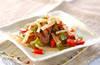 砂肝の鶏油炒めの作り方の手順